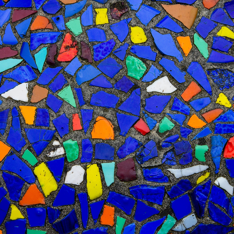 Kid's Workshop: Let's Make a Mosaic Stepping Stone