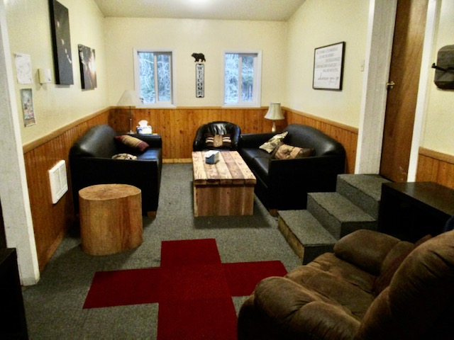Cabin #16, Long House Lounge
