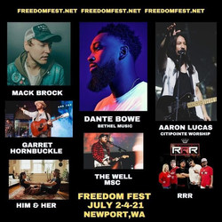 Freedom Fest Line Up
