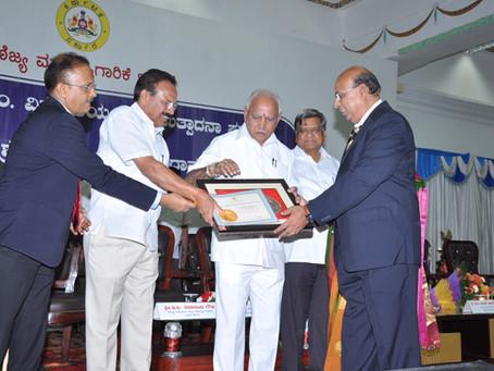 Bentley receives prestigious Sir M Visvesvaraya Manufacturing Excellence Award