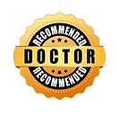 doctor-recommended-gold-icon-vector-450w