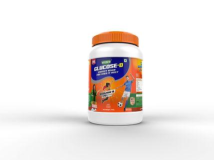 Glucose D Orange 500gm | Vitcose D | Glucose D Orange| India