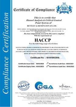 Bentley HACCP Certificate_page-0001