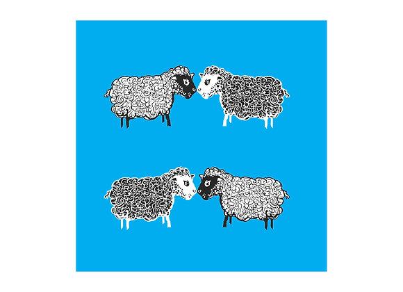 Sheep Digital Print