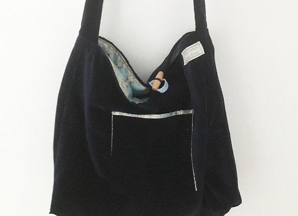 Reversible Shoulder Strap Tote Bag