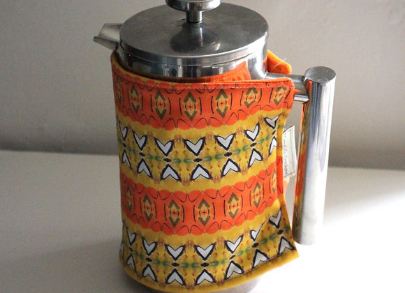 Cafetiere Cosy 'Tangerine Dream' Large