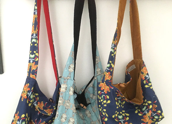 Customised Reversible Shoulder Strap Tote Bag