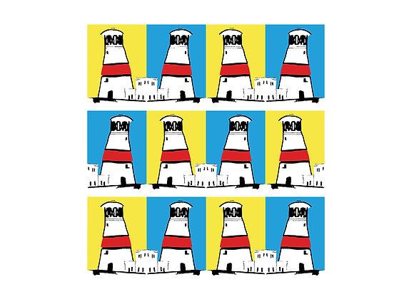 Portland Bill Digital Print