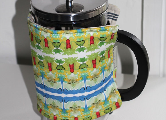 Cafetiere Cosy 'Blue Clover' Large