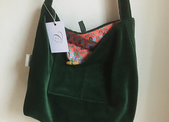 Reversible Shoulder Strap Tote Bag