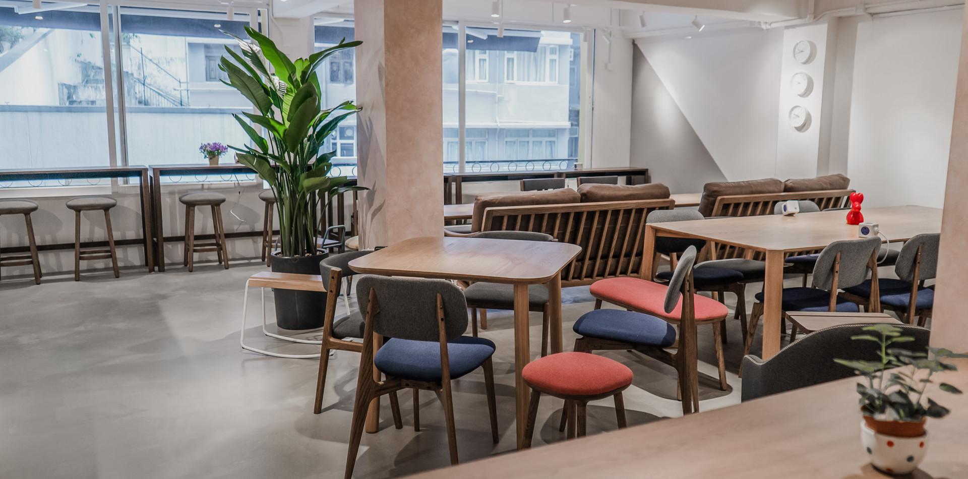 Working spaces hongkong
