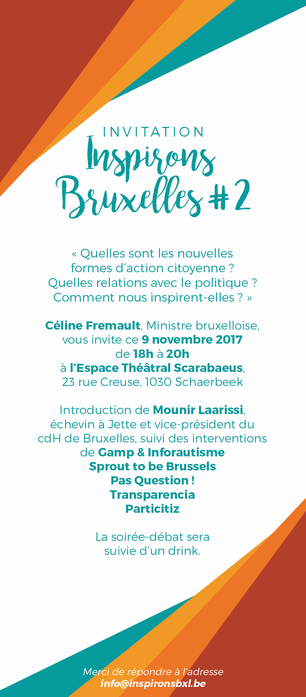 Inspirons Bruxelles !
