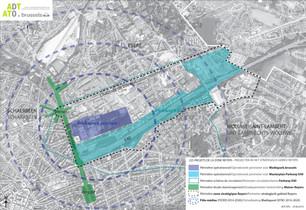 Réorganisation du boulevard Reyers suite à la démolition du viaduc