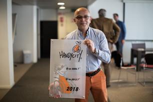 Schaerbeek reçoit le label Handycity® 2018