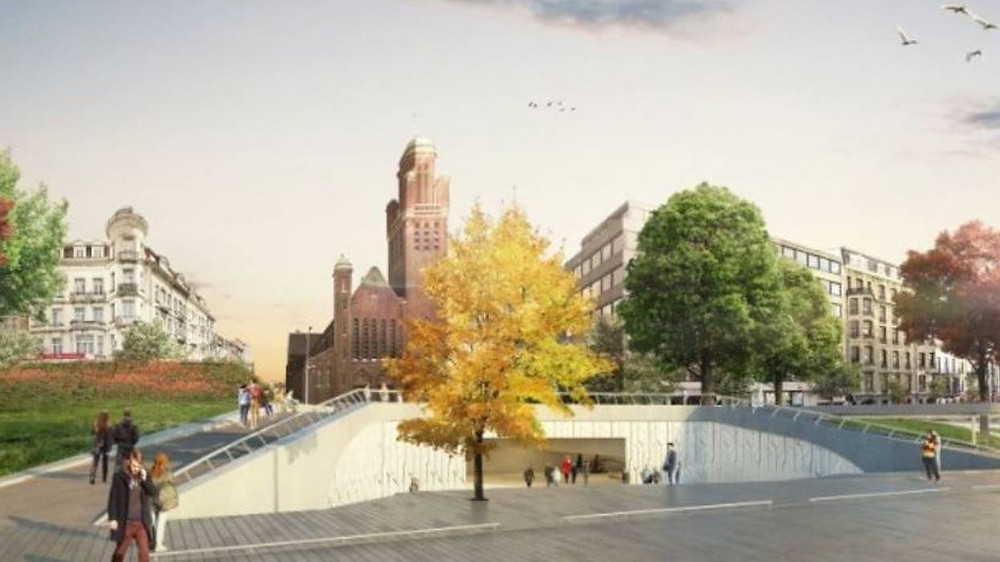 Le projet Beliris pour la future station de métro