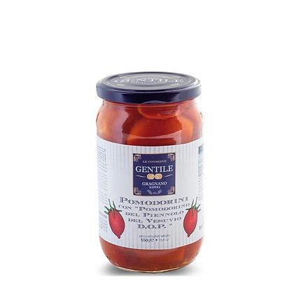Pomodorini del Piennolo del Vesuvio D.O.P. al Naturale