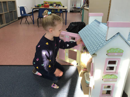 Our First Week at Wroxham Nursery
