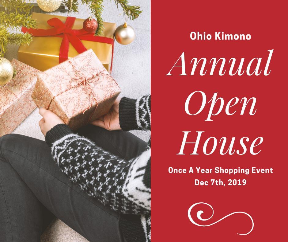 Ohio Kimono Annual Holiday Open House
