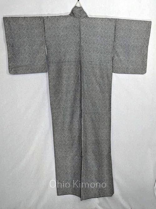 shibori vintage kimono