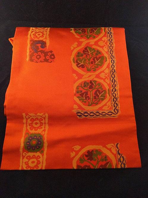 Vintage Orange Nagoya Obi