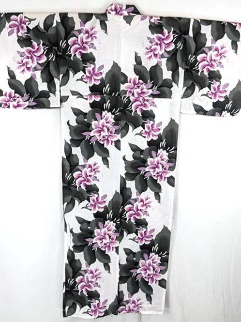 cotton yukata kimono from japan