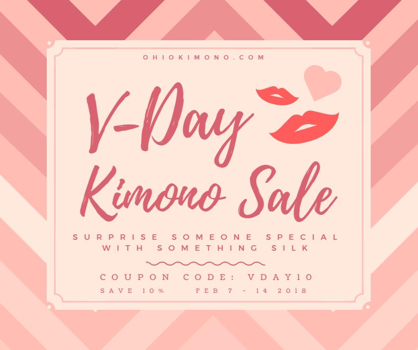 Ohio Kimono Sale