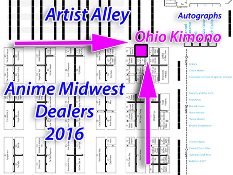 Ohio Kimono @ Anime Midwest 2016!