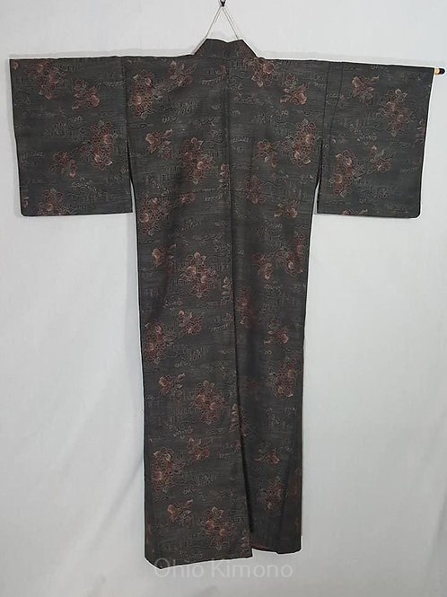 wool japanese kimono