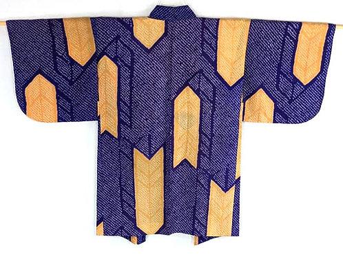 antique shibori silk haori