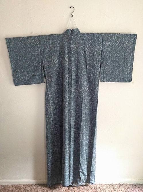 Blue Dot Kimono