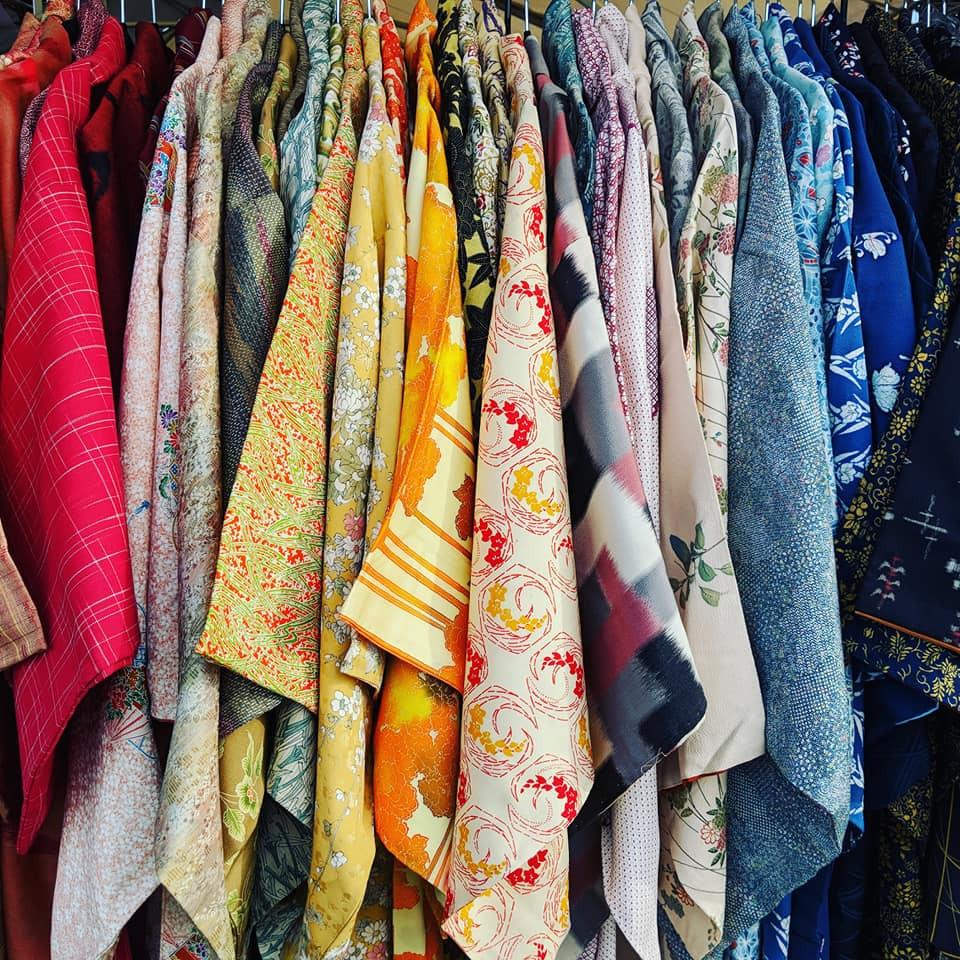 Vintage Japanese Kimono For Sale