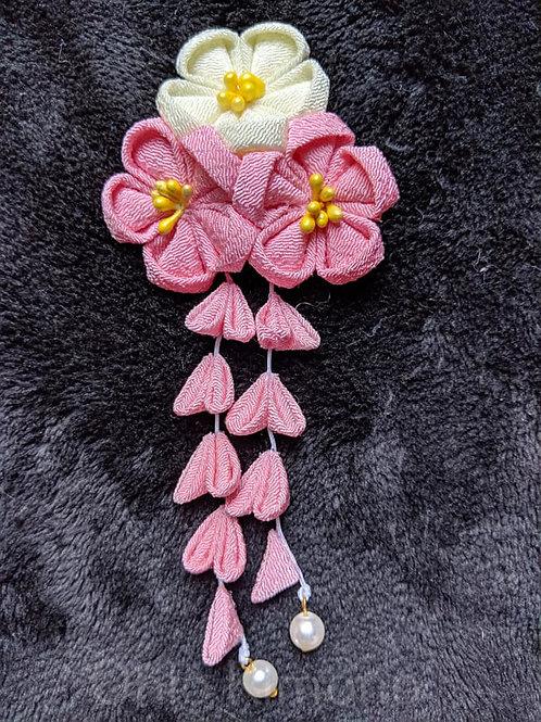 Pink Kanzashi