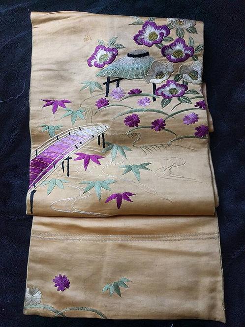 Antique Obi For Kimono