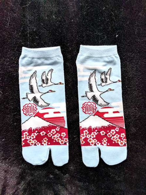 pale blue tabi socks