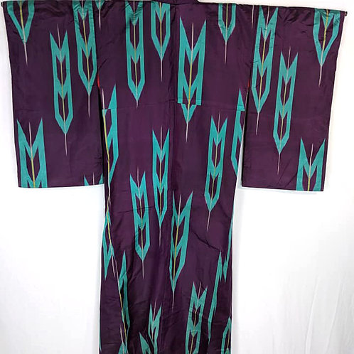 taisho purple kimono