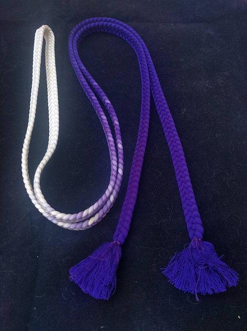White To Purple ObiJime