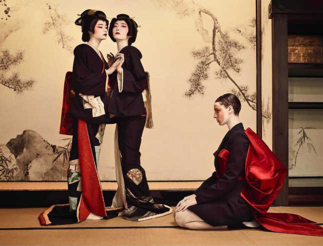 Vogue Japan Kimono & Geisha