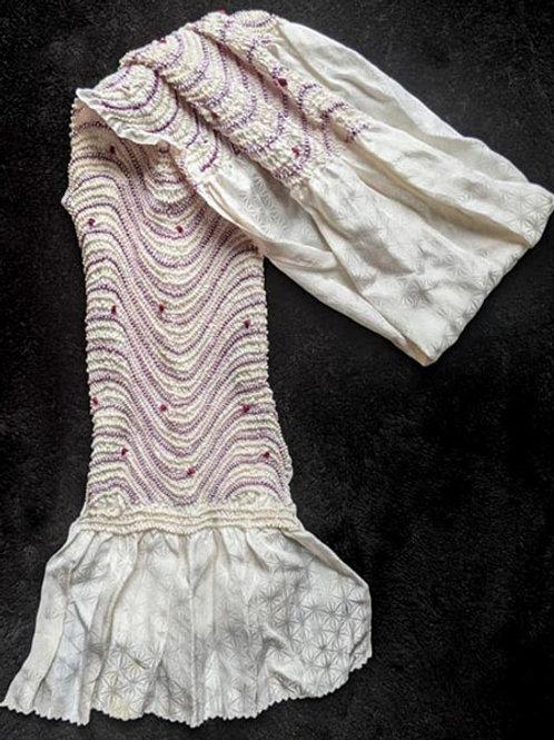 White & Lavender Obiage