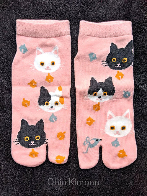 Pink Tabi Socks