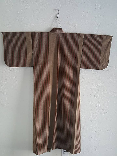 Brown Japanese Kimono