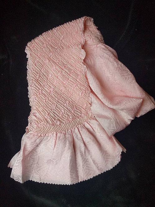 Pink Obiage For Kimono Obi