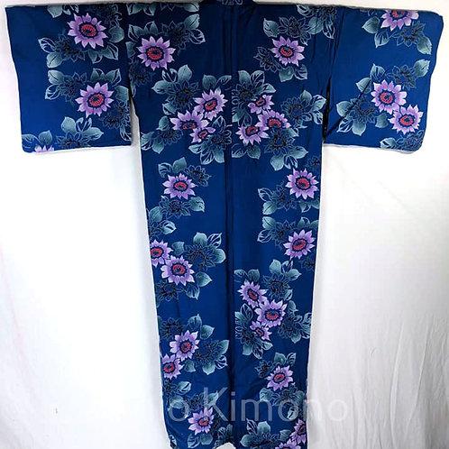 blue yukata