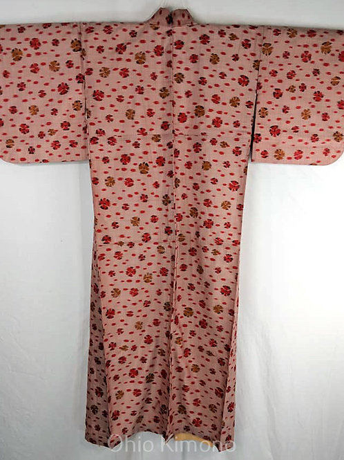 pink japanese kimono