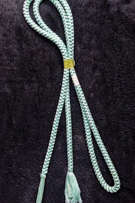 pale blue obijime cord for kimono