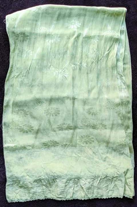 pastel green obiage silk