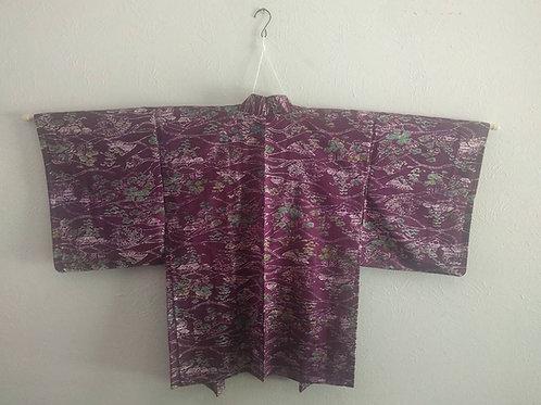 Vintage Purple Haori