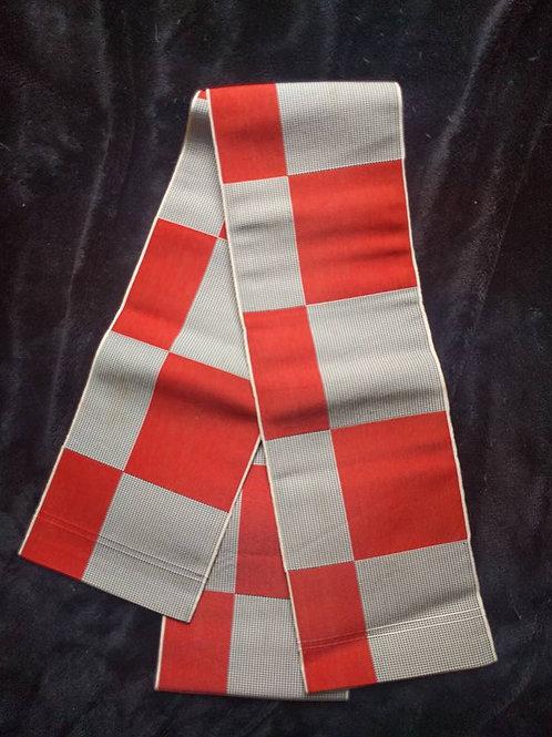 Checkered Hanhaba Obi