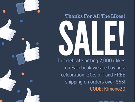 2,000 Facebook Followers Sale!