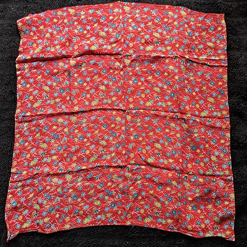 red japanese gift wrap cloth