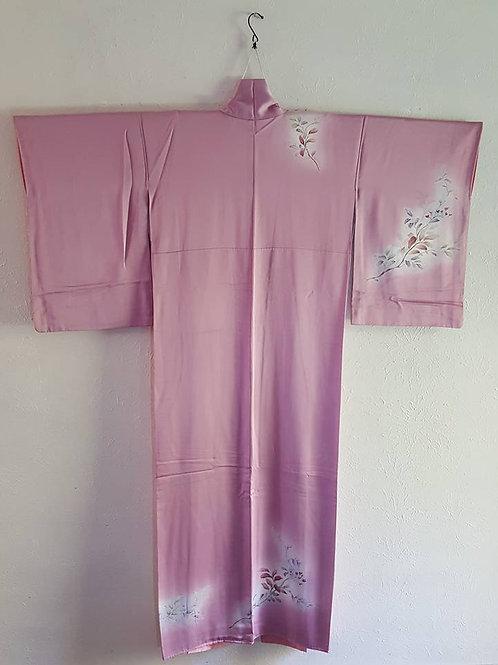 Pink Tsukesage Kimono